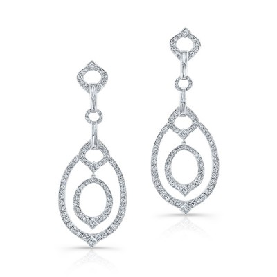 Diamond Gallop Earrings