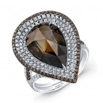 Pear Shape Cognac Diamond