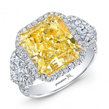 Radiant Cut Yellow Diamond